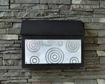 Modern Rectangular Mailbox - Dizzy Design