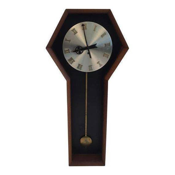 Mid-Century Wall Clock Howard Miller Company