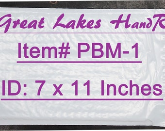 12 PBM-1 Self-Sealing Poly Bubble Padded Envelope Mailers, 8 x 11 Inches OD
