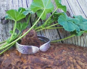 Silverware Jewelry Hinged Spoon Handle Bracelet.