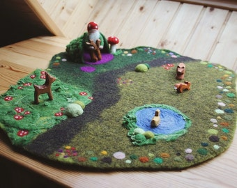 On order - Woodland Playmat (waldorf)