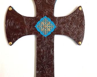 Cross Wall Hanging, decorative cross, Christian gifts, cross wall art, cross, wall crosses, cross decor, cross wall decor, religious cross,