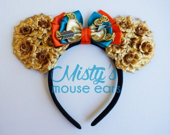 Inspired Merida from Brave Rose Mouse Ears