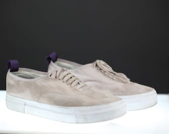 Light Pink Men's Eytys Mother Low-Top Canvas Trainers US 9