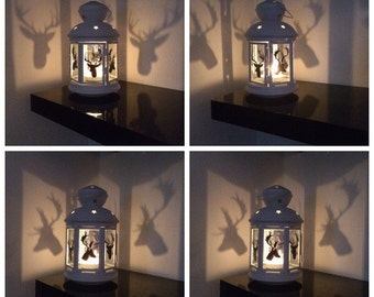 Stag Candle Lantern