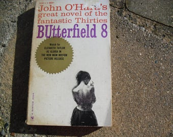 Vintage Paperback Book Butterfield 8 by John o'Hara