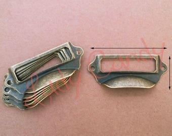 Label shell iron Drawer Dresser sideboard #120028 furniture door handle