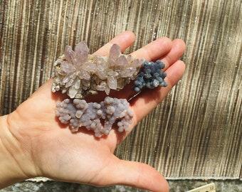 Mineral Specimen for sale  3 minerals   - Displace Specimens - unique lapidary - rock decor