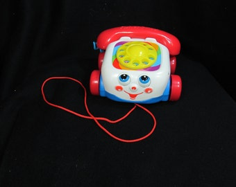 Pull toy - Mattel Toy - Music and Sound - toddler toy  - children's toy - Fisher Price toy - toy phone - # 19