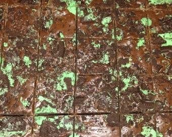 Mint Chocolate Oreo Fudge