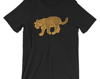 Savage Leopard T-shirt Animal Lover Tee