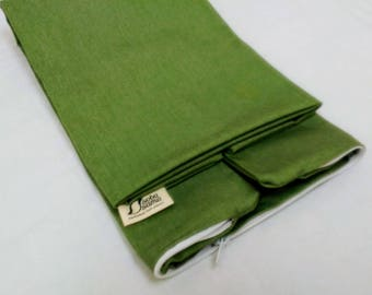 soba sama_hulls case ONLY_14x20_Olive Green_FREE DOMESTIC SHIPPING. USA
