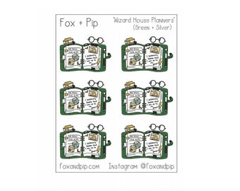 Wizard House Planner stickers