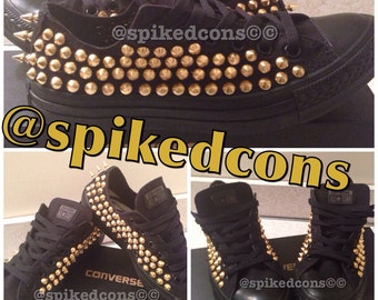Adult low Spiked\Studded Converse
