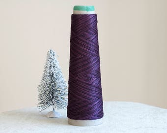 MULBERRY 1316 Weeks Dye Works WDW hand-dyed 6-strand embroidery floss or Pearl Perle Cotton #5 cross stitch thread