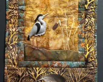 Blue Heron Art Quilt Pattern