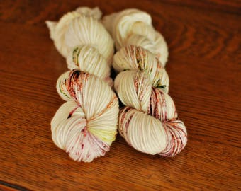 The Great Pumpkin, Hand Dyed Yarn, SW DK