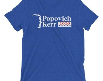 Popovich Kerr 2020 Blue T-shirt Tri Blend Option