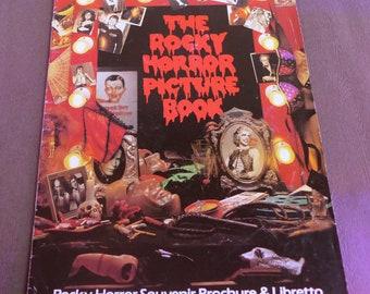 Le Rocky Horror Picture Book - Brochure Souvenir & livret - Londres 1979