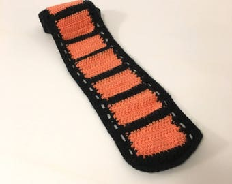 Crocheted Film Geek Scarf (Kids)