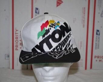 Vintage Daytona Speedweeks Truckers Snapback 1997 97' ball cap hat