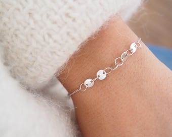 Fine sterling silver bracelet / sterling silver 925 bangle