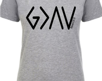 god is greater than the highs and lows, romans 8