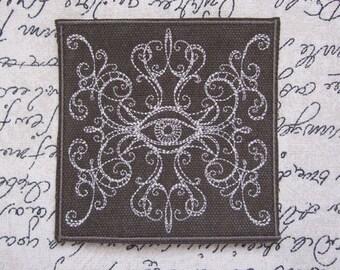Spirit World Mystic Seeing Eye Fortune Teller Novelty Embroidered Patch
