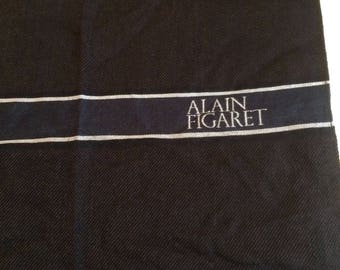 Alain Figuaret scarf in wool and silk