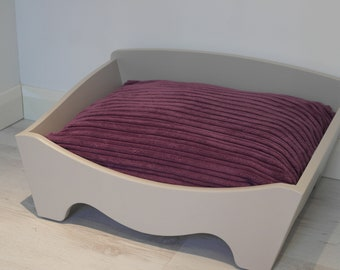 Small Box Bed with Cushion