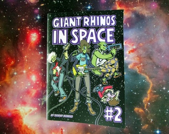 Giant Rhinos In Space #2