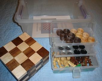 3-N-1 Board Games Kit