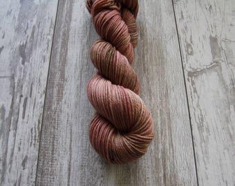 Blush • Worsted Weight - Superwash Merino - Speckled Yarn - Hand Dyed Yarn
