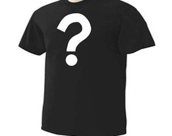 QUESTION MARK Trendy Funny Humor Novelty T-Shirt