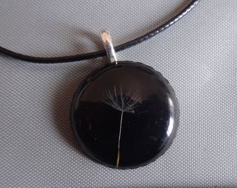 Necklace with Dandelion seeds