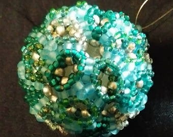 Blastula120  7-layer beaded bead