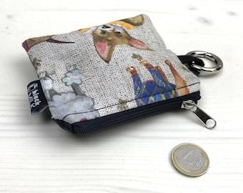 Poo-poo bag purse portasacchettini rsellino card holders purse dog coin purse