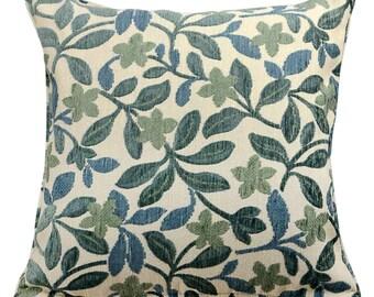 "Kravet 24148.516 Living For Today Blue Fabric 20"" Pillow cover Lumbar pillow cover"