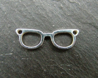Sterling Silver Glasses Connector 17mm