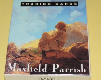 1995 Maxfield Parrish Artists Trading Cards, 36 cards