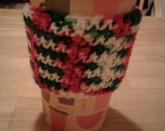 Christmas Coffee Cup Cozy