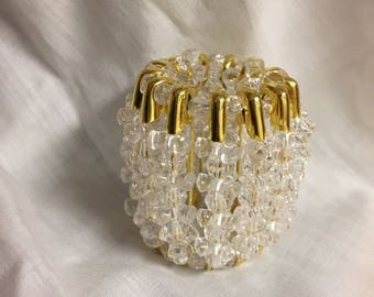 Clear Nightlight with Gold