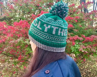 Harry Potter Slytherin Knit Hat