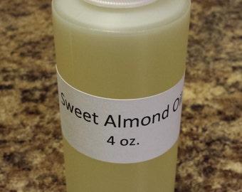 Sweet Almond Oil 4 oz.