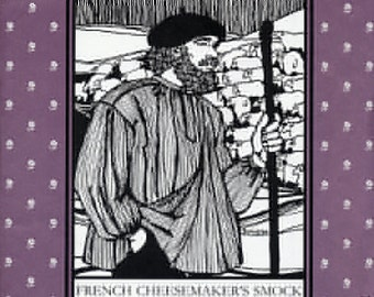French Cheesemaker's Smock, Folkwear Pattern 102