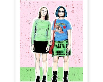 Rebecca and Enid (Ghost World)