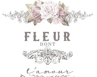 L'amour Est Le Miel Redesign Trsnsfer from Prima Marketing .