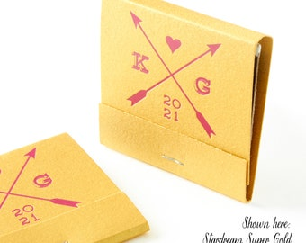 ARROWS Matchbooks - Wedding Favors, Wedding Matches, Wedding Decor, Personalized Matches, Custom Matchbook, Shower Favors, Engagement Party