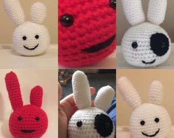 Crochet find Chaffy Toy - Made to order Amigurumi