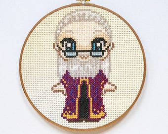Albus Dumbledore Cross Stitch Kit